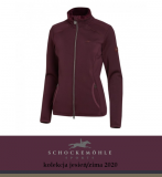Bluza damska RAINBOW AW20 - Schockemohle - burgundy