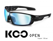 Okulary KOO Open - Super Blue - black mat