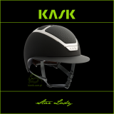 Kask Star Lady - KASK - czarny/srebrny - roz. 55-56