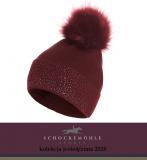 Czapka zimowa CRYSTAL BAILA BEANIE AW20 - Schockemohle - burgundy