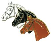 Znaczek ozdobny 11 - głowa konia w ogłowiu