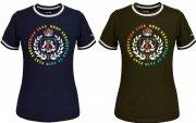Koszulka bawełniana ABBY MULTI damska - Fair Play