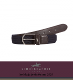 Pasek do spodni SPORTY LOGO AW20 - Schockemohle - dark navy