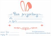 Bon prezentowy Wielkanocny! o wartości 205 zł
