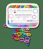 Gumki do grzywy kolorowe w pudełeczku - Waldhausen