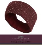 Opaska zimowa CRYSTAL AW20 - Schockemohle - burgundy