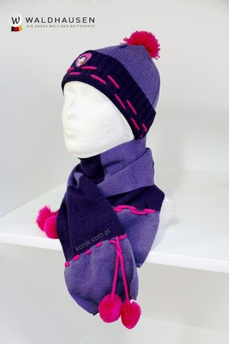 Dziecięcy zestaw zimowy - czapka+szalik ELT CRAZY