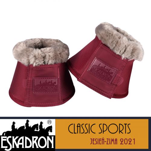 Kaloszki FAUXFUR - Classic Sports A/W 21 - Eskadron - rustic red