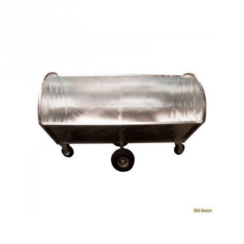 Wózek do obornika okrągły - BM Horse