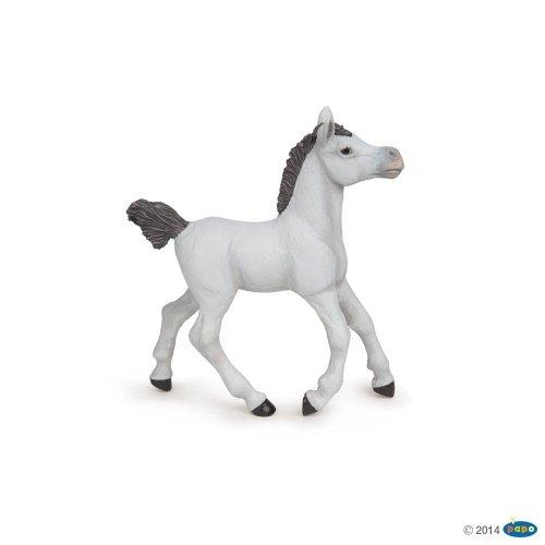 Figurka źrebak ARABSKI biały - PAPO