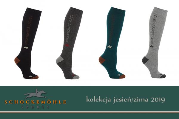 Podkolanówki SPORT kolekcja jesień-zima 2019 - Schockemohle