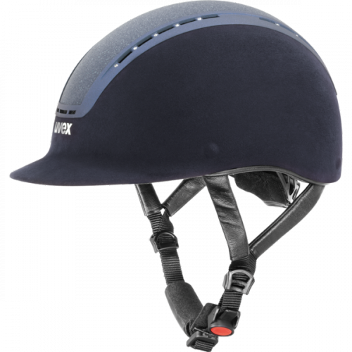 Kask UVEX model SUXXEED GLAMOUR - granatowy