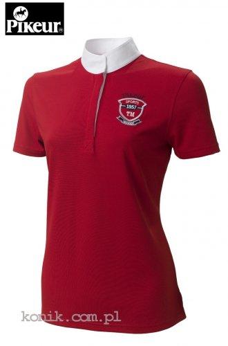 Koszula konkursowa 437 PIKEUR - czerwona