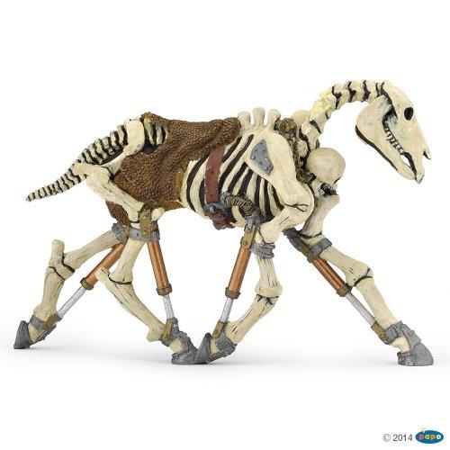 Figurka świecąca w ciemności szkielet konia - PAPO