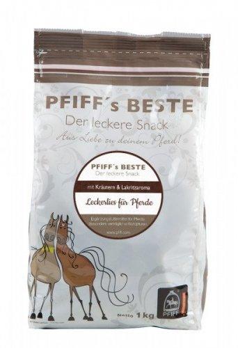 Cukierki dla konia BESTE 1kg - PFIFF - zioła/lukrecja