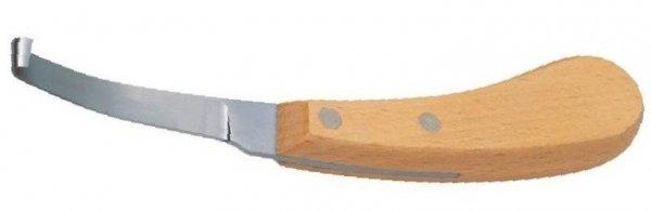 Nóż do kopyt - prawy - wąski