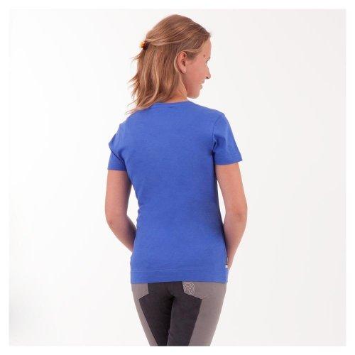 Koszulka dziecięca ze srebrnym nadrukiem ANKY - blue marlin