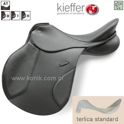 Siodło Kieffer model GARMISCH - wszechstronne terlica standard