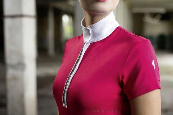 Koszulka konkursowa damska Silver Stream - Cavallino Marino