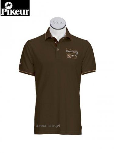 Koszulka Pikeur ROMAN - dark brown