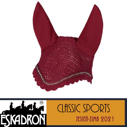 Nauszniki CRYSTAL - Classic Sports A/W 21 - Eskadron - rustic red