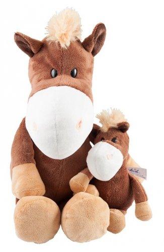 Pluszowy konik brązowy 18 cm - PFIFF