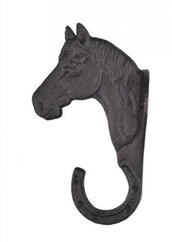Wieszak głowa konia z podkową - HKM