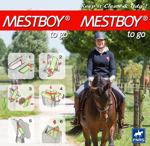 Worki na odchody Mestbot to go! - Harry's Horse