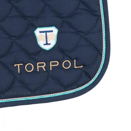Czaprak ujeżdżeniowy SPORT granat - TORPOL