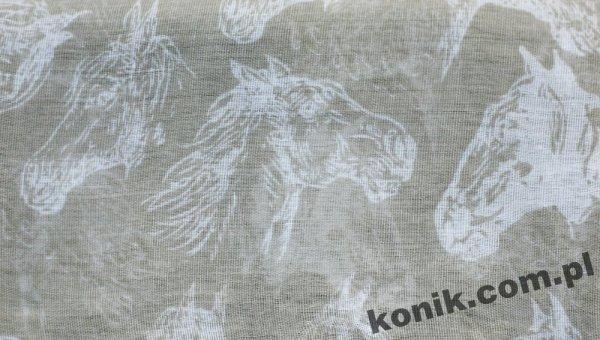 Apaszka HORSEHEAD - GRAY'S