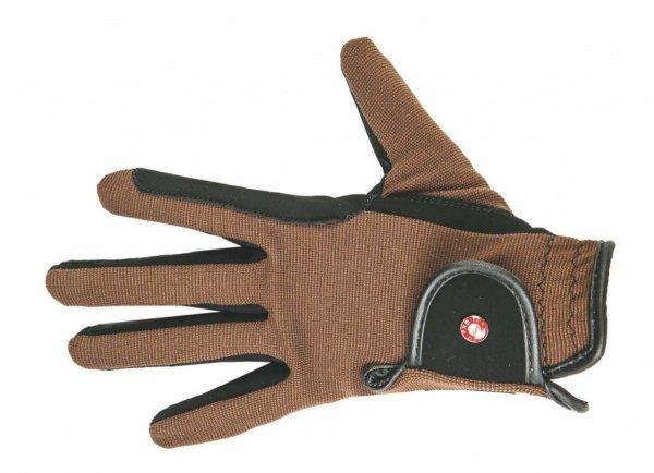 Rękawiczki dziecięce HKM Professional Nubuk Look