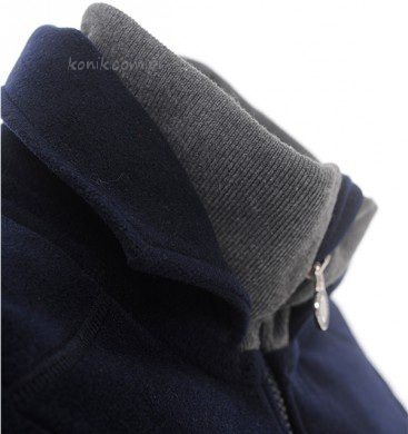 Bluza polarowa LAILA navy - SPOOKS