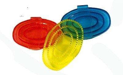 Zgrzebło gumowe transparentne - FAIR PLAY