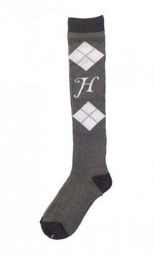 Podkolanówki - Harry's Horse - Neutral gray