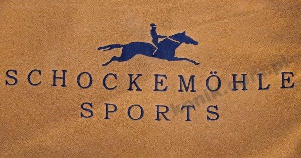 Derka polarowa FIRST CLASS Schockemohle - camel/navy