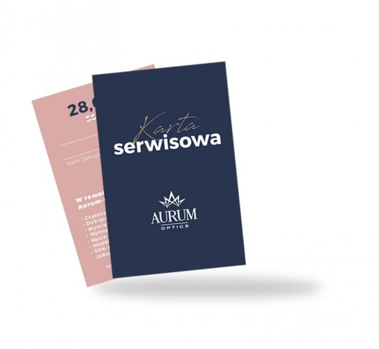 KARTA SERWISOWA AURUM-OPTICS