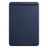 Apple Leather Sleeve - Skórzany futerał do iPad Pro 10,5 - Midnight Blue (nocny błękit)