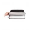 JCPAL Nylon Business Sleeve Black - pokrowiec na laptopa 13-cali (czarny)