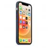 Apple Silikonowe etui z MagSafe do iPhone'a 12 / 12 Pro – głęboki granat