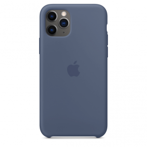 Apple Silikonowe etui do iPhone'a 11 Pro – nordycki błękit