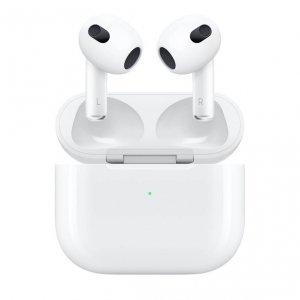 Apple AirPods (3-generacji) Słuchawki bezprzewodowe z etui ładującym