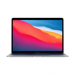 MacBook Air z Procesorem Apple M1 - 8-core CPU + 7-core GPU / 8GB RAM / 256GB SSD / 2 x Thunderbolt / Space Gray (gwiezdna szarość) 2020 - nowy model
