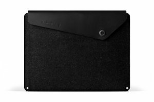 Mujjo Sleeve Etui do MacBook Pro 15 Black (czarny)