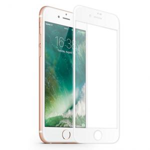 KMP Szkło ochronne do iPhone 8 (biały)