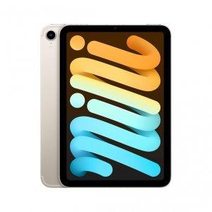 Apple iPad mini 6 8,3 256GB Wi-Fi + Cellular (5G) Księżycowa poświata (Starlight)