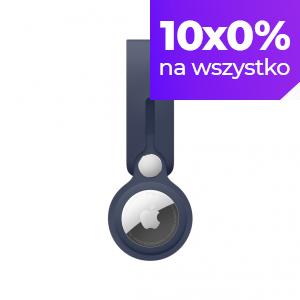 Apple Pasek do AirTaga - głęboki granat