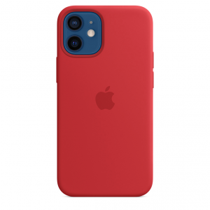 Apple Silikonowe etui z MagSafe do iPhone'a 12 / 12 Pro – (PRODUCT)RED