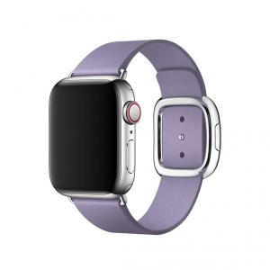 Apple pasek z klamrą nowoczesną w kolorze liliowym do Apple Watch 38/40 mm - Rozmiar M