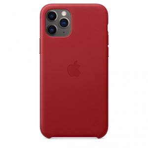 Apple Skórzane etui do iPhone'a 11 Pro – (PRODUCT)RED