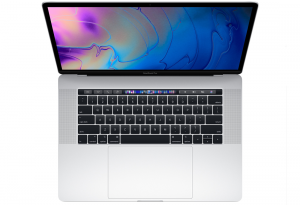 MacBook Pro 15 Retina True Tone i7-8750H / 16GB / 512GB SSD / Radeon Pro 560X / macOS / Silver